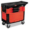 RCP618088BLA:  Rubbermaid® Commercial Trades Cart