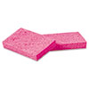 BWKCS1A:  Boardwalk® Small Pink Cellulose Sponge