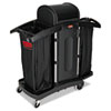 RCP9T78:  Rubbermaid® Commercial High-Security Housekeeping Cart