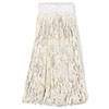 BWK324C:  Boardwalk® Saddleback Cut-End Wet Mop Heads