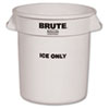 RCP9F86WHI:  Rubbermaid® Commercial Brute® Ice-Only Container