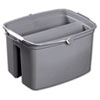 RCP2617GRA:  Rubbermaid® Commercial Double Utility Pail