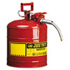 JUS7250120:  JUSTRITE® AccuFlow™ Safety Can
