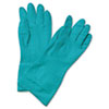 BWK183M:  Boardwalk® Nitrile Flock-Lined Gloves