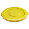 RCP2631YEL:  Rubbermaid® Commercial Round Brute® Lid