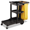 RCP9T80YEL:  Rubbermaid® Commercial Vinyl Cleaning Cart Bag