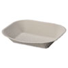 HUH10405CT:  Chinet® Savaday® Molded Fiber Food Trays