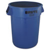 RCP2632BLU:  Rubbermaid® Commercial Round Brute® Container