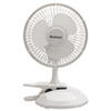 "HLSHCF0611AWM:  Holmes® 6"" Convertible Clip/Desk Fan"