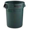 RCP2632DGR:  Rubbermaid® Commercial Round Brute® Container
