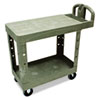 RCP450500BG:  Rubbermaid® Commercial Flat Shelf Utility Cart
