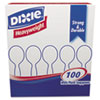 DXESH207:  Dixie® Plastic Cutlery