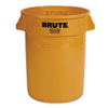 RCP2632YEL:  Rubbermaid® Commercial Round Brute® Container