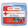 JOJ8274:  Johnson & Johnson® Red Cross® Safe Travels™ First Aid Kit
