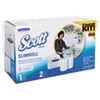 KCC31701:  Kimberly-Clark Professional* Slimroll* Hard Roll Hand Towel System