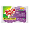 MMM202038:  Scotch-Brite™ Stay Clean Non-Scratch Scrub Sponge