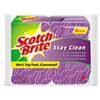 MMM202066:  Scotch-Brite™ Stay Clean Non-Scratch Scrub Sponge