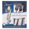 WNA612375:  WNA Reflections™ Heavyweight Plastic Utensils