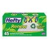 RFPE48259:  Hefty® Renew Recycled Kitchen-Sized Trash Bags