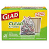 CLO78543:  Glad® Clear Recycling Tall Kitchen Trash Bags