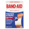 JOJ4408:  BAND-AID® Flexible Fabric Tough-Strips™ Adhesive Bandages