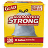CLO78526:  Glad® Tall Kitchen Drawstring Trash Bags