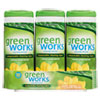 CLO30655:  Green Works® Compostable Cleaning Wipes