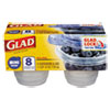 CLO70240PK:  Glad® Food Storage Containers with Lids