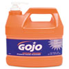 GOJ095504CT:  GOJO® NATURAL ORANGE™ Pumice Hand Cleaner with Pump Dispenser