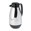 HORPM10CJ:  Hormel Vacuum Glass Lined Chrome-Plated Carafe