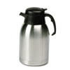 HORSVC190:  Hormel Stainless Steel Lined Vacuum Carafe