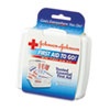 JOJ8295:  Johnson & Johnson® Red Cross® Mini First Aid to Go®