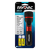 RAYBER2AABA:  Rayovac® General Purpose Rubber & Aluminum Flashlight