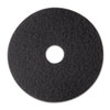 MMM08374:  3M Black Stripper Floor Pads 7200