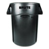 RCP264360BK:  Rubbermaid® Commercial Vented Round Brute® Container