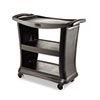 RCP9T6800BK:  Rubbermaid® Commercial Executive Service Cart