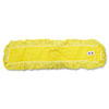 RCPJ15500YEL:  Rubbermaid® Commercial Trapper® Looped-End Dust Mop