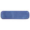 "RCPQ41000BLU:  Rubbermaid® Commercial 18"" Wet Mopping Pad"