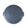 RCP261960GRA:  Rubbermaid® Commercial Round Brute® Lid