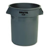 RCP262000GRA:  Rubbermaid® Commercial Round Brute® Container