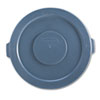 RCP263100GY:  Rubbermaid® Commercial Round Brute® Lid