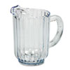 RCP333800CR:  Rubbermaid® Commercial Bouncer® Plastic Pitcher
