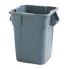RCP353600GY:  Rubbermaid® Commercial Square Brute® Container