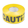 "TCO10700:  Tatco ""Caution"" Barricade Safety Tape"
