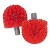 UNGBBRHRCT:  Unger® Replacement Heads for Ergo Toilet Bowl Brush System