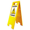 USS5693:  Headline® Sign Customizable Floor Tent Sign