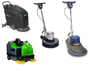 floor cleaning equipment buffers scrubbers