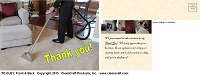 TC-CU01: Thank You Postcard - Carpet-Upholstery Cleaning