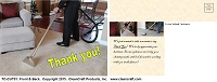 TC-CUT01: Thank You Postcard - Carpet-Upholstery-Tile-Grout-Cleaning